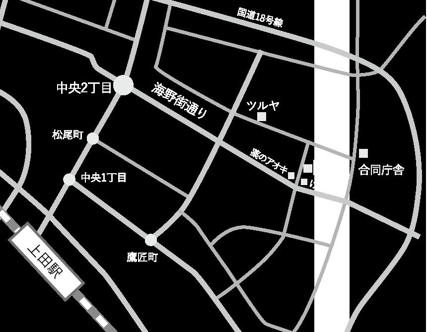 Fikaアクセスマップ